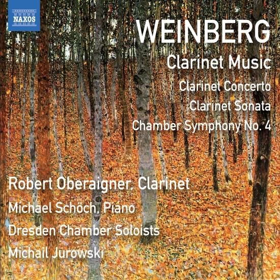 Cover Weinberg: Clarinet & Chamber Works