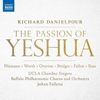 Cover Danielpour: The Passion of Yeshua