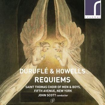 Cover Maurice Duruflé & Herbert Howells Requiems