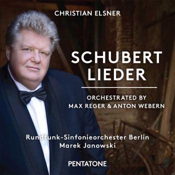 Cover Schubert: Lieder (Orch. by Max Reger & Anton Webern)