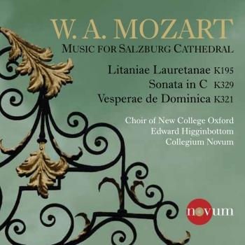 Cover Mozart: Music for Salzburg Cathedral