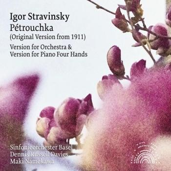 Cover Stravinsky: Pétrouchka (Orchestral and Piano Four Hands Version)