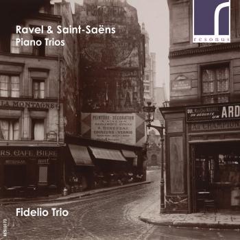 Cover Ravel & Saint-Saens: Piano Trios