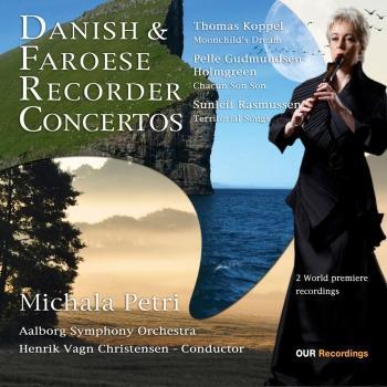 Cover Danish & Faroese Recorder Concertos