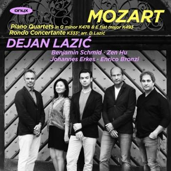 Cover Mozart: Piano Quartets, Rondo Concertante