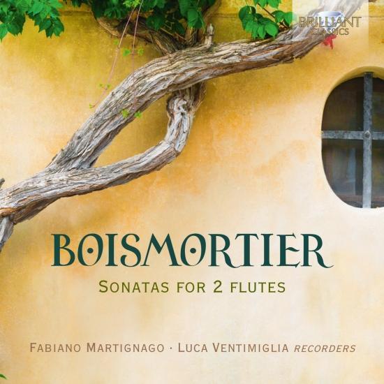 Cover Boismortier: Sonatas for 2 Flutes
