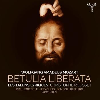 Cover Mozart: Betulia liberata
