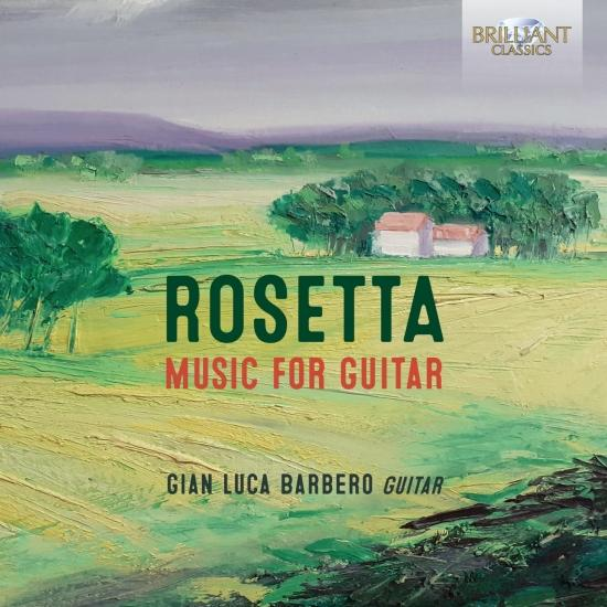 Cover Rosetta: Music for Guitar