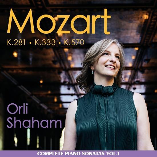 Cover Mozart: Piano Sonatas, K. 281, K. 333, K. 570, Vol. 1