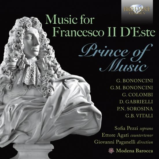 Cover Music for Francesco II D'Este Prince of Music