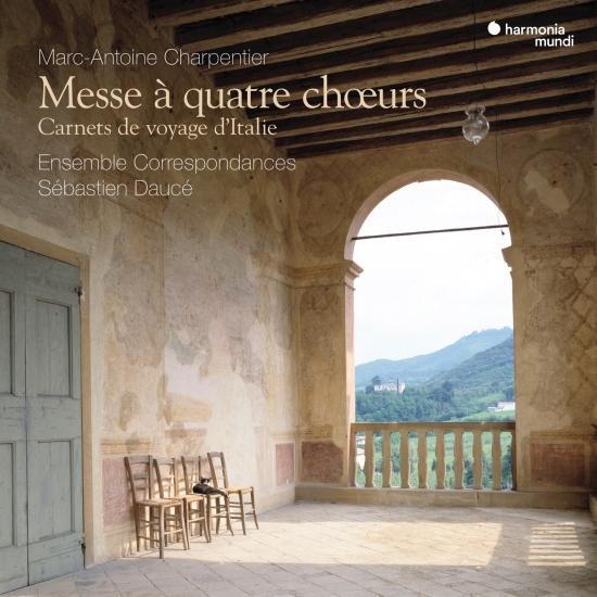 Cover Charpentier: Messe à quatre chœurs - Carnets de voyage d'Italie