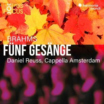 Cover Brahms: 5 Gesänge, Op. 104