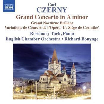 Cover Czerny: Piano Concerto No. 1 in A Minor, Op. 214