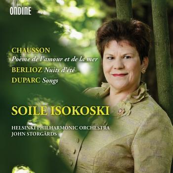 Cover Chausson: Poème de l'amour et de la mer - Berlioz: Les nuits d'été - Duparc: Songs