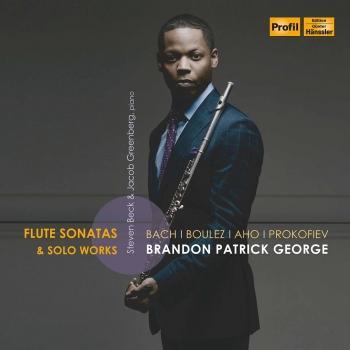 Cover J.S. Bach, Boulez, Aho & Prokofiev: Flute Sonatas & Solo Works