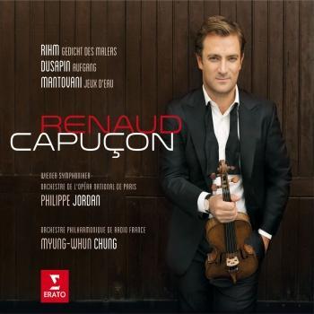 Cover Renaud Capuçon plays Rihm, Dusapin & Mantovani