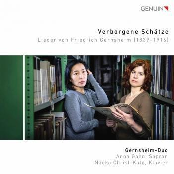 Cover Verborgene Schätze: Lieder von Friedrich Gernsheim