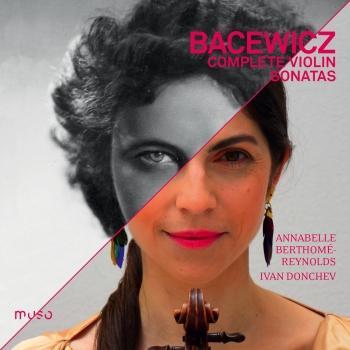 Cover Grażyna Bacewicz: Complete Violin Sonatas