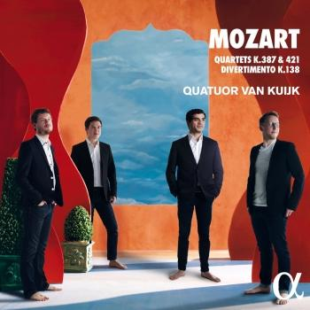 Cover Mozart: Quartets K.387, K.421 & Divertimento K.138