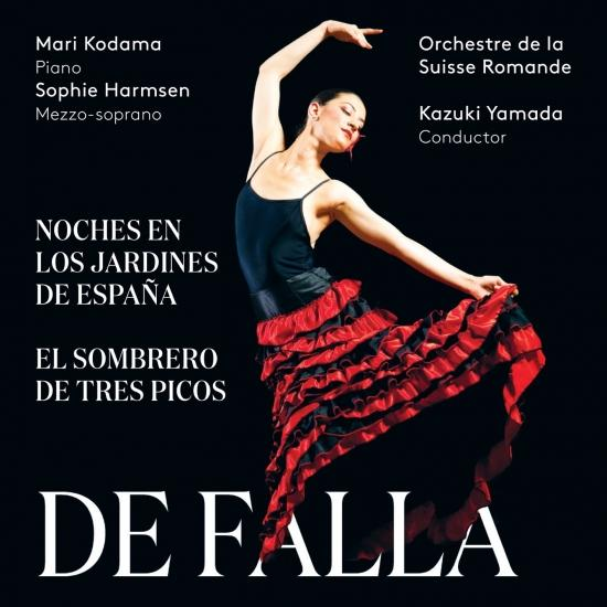 Cover De Falla: Noches en los Jardines de España & El Sombrero de Tres Picos