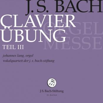 Cover J.S. Bach: Clavier-Übung, Book 3 'Orgelmesse'