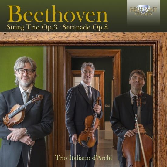 Cover Beethoven: String Trio, Op. 3, Serenade, Op. 8