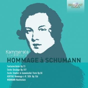 Cover Hommage à Schumann