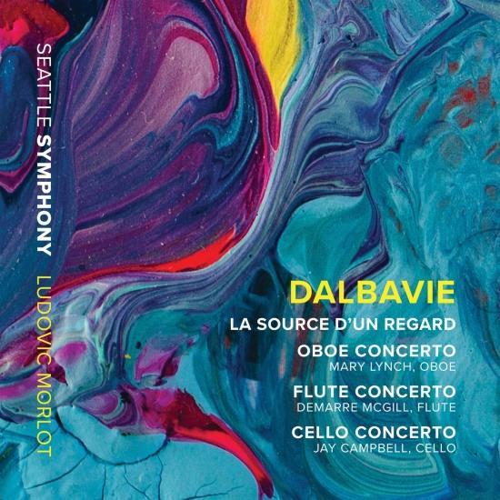 Cover Marc-André Dalbavie: La source d'un regard & Concertos
