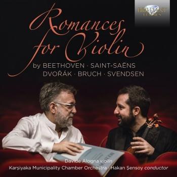 Cover Romances for Violin by Beethoven, Saint-Saëns, Dvorak, Bruch, Svendsen