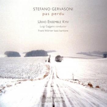 Cover Stefano Gervasoni: Pas Perdu