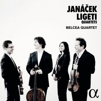 Cover Janáček & Ligeti: Quartets