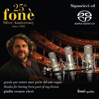 Cover 25th fonè Silver Anniversary