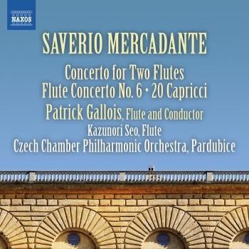 Cover Mercadante: Flute Concertos, Vol. 2