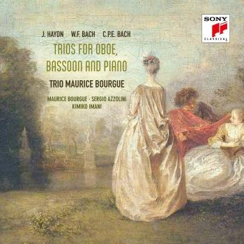 Cover Haydn, W.F. Bach & C.P.E. Bach: Trios for Oboe, Bassoon & Piano
