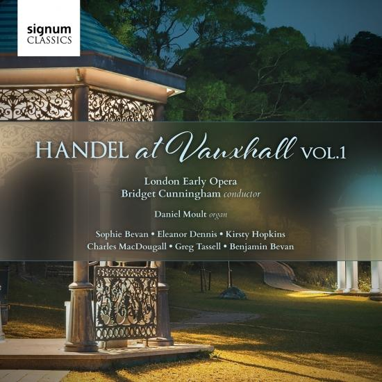 Cover Handel at Vauxhall, Vol.1