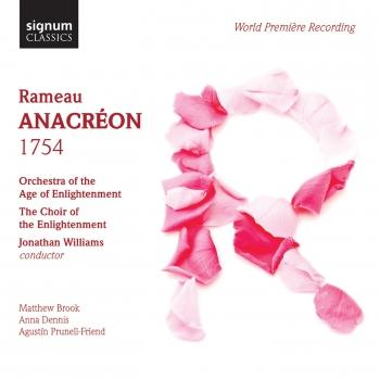 Cover Rameau: Anacréon (1754)