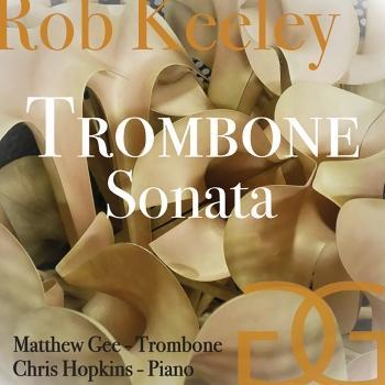 Cover Rob Keeley: Trombone Sonata