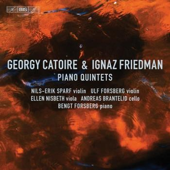 Cover Catoire & Friedman: Piano Quintets