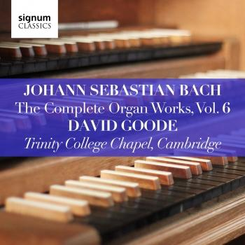 Cover Bach: The Complete Organ Works Vol. 6
