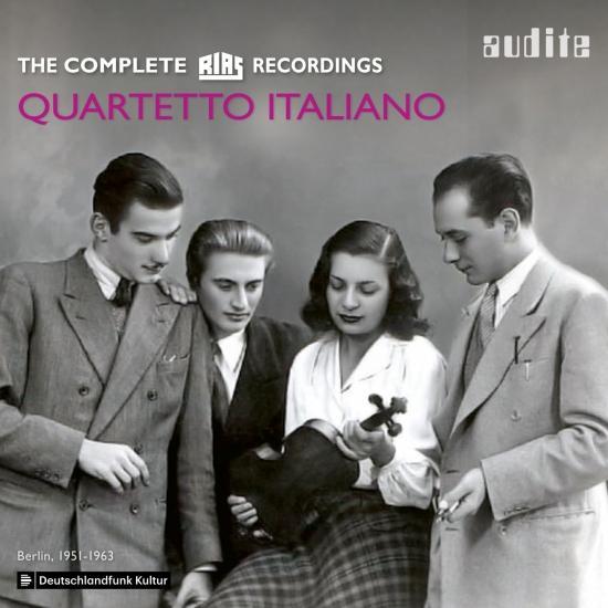 Cover Quartetto Italiano: The complete RIAS Recordings (Berlin, 1951-1963)