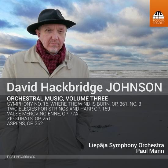 Cover David Hackbridge Johnson: Orchestral Music, Vol. 3