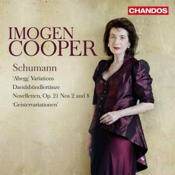 Cover Schumann: 'Abegg' Variations, Davidsbündlertänze, Novelletten & 'Geistervariationen'