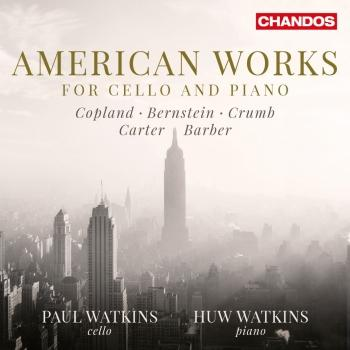 Cover American Works for Cello & Piano