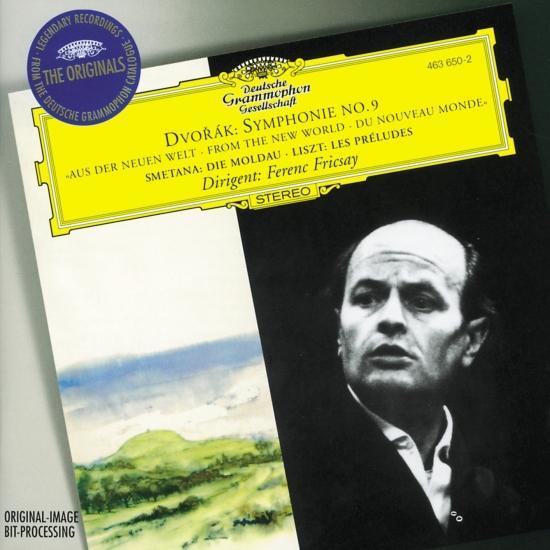 Cover Dvorák: Symphony No.9 / Smetana: The Moldau / Liszt: Les Préludes