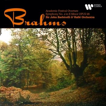Cover Brahms: Academic Festival Overture, Op. 80 & Symphony No. 4, Op. 98 (Remastered)