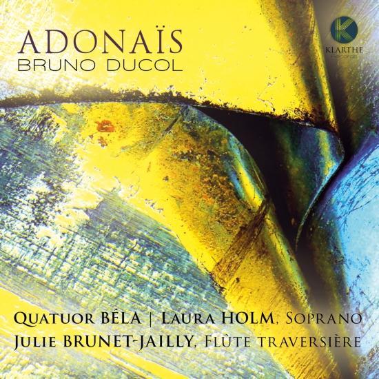 Cover Bruno Ducol: Adonaïs