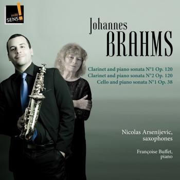 Cover Brahms: Clarinet and Piano Sonata & Cello and Piano Sonata (Arr. for Saxophon and Piano)