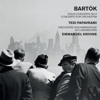Cover Bartók: Violin Concerto No. 2 in B Major, Sz. 112 & Concerto for Orchestra, Sz. 116