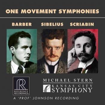 Cover Barber, Sibelius & Scriabin: One Movement Symphonies