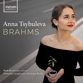 Cover Anna Tsybuleva: Brahms